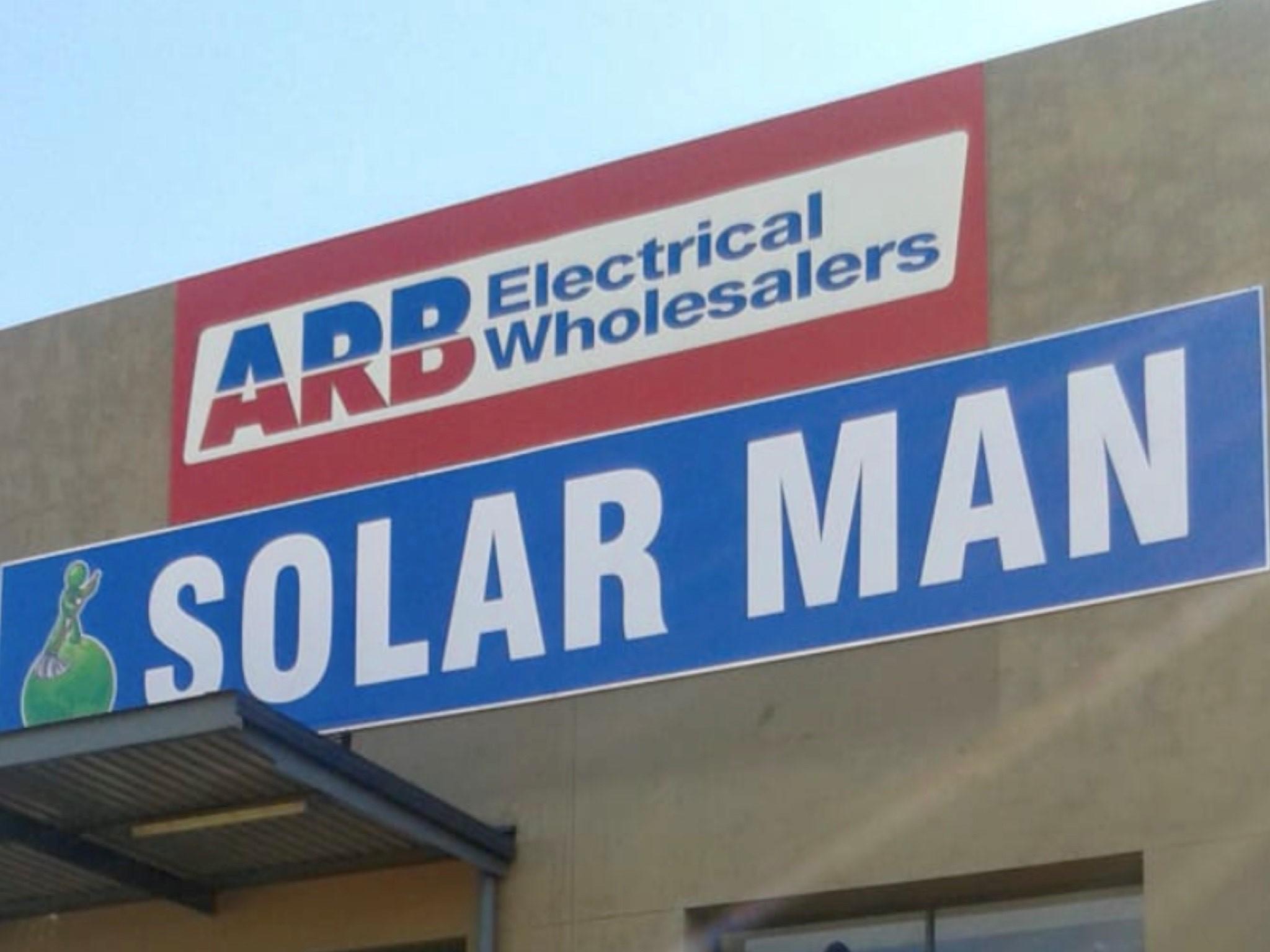 Solar Man SA - Storefront Exterior.